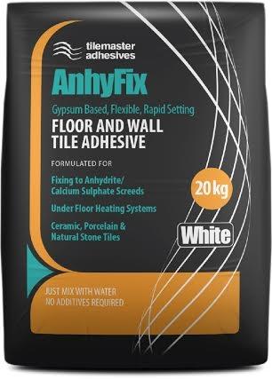 Gypsum Based Flexible Tile Adhesive