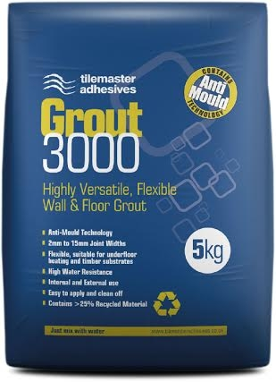 Mid Grey Flexible Grout