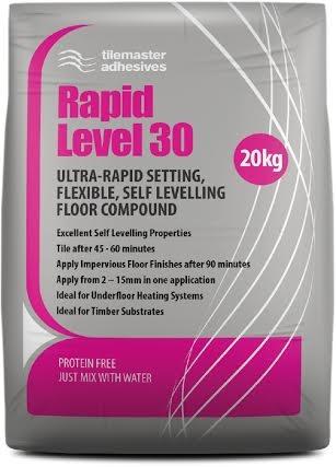 Rapid Setting Floor Levelling Compund