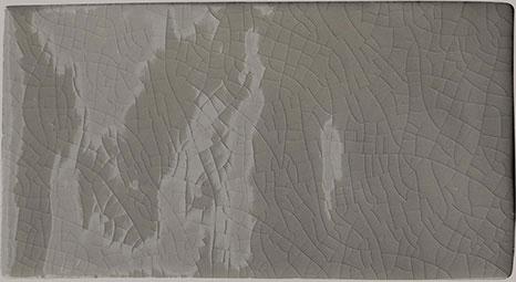 Antique Crackle Glaze Metro Dark Grey 7 5x15