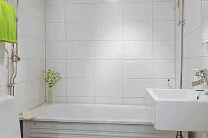Bumpy White Wall Tiles 25x40cm