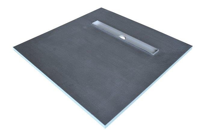 1500x900 Linear Drain Shower Tray