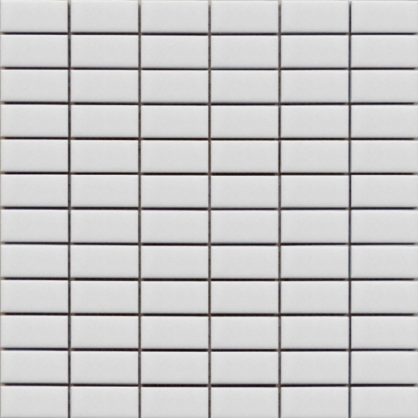 White Rectangle Mosaic