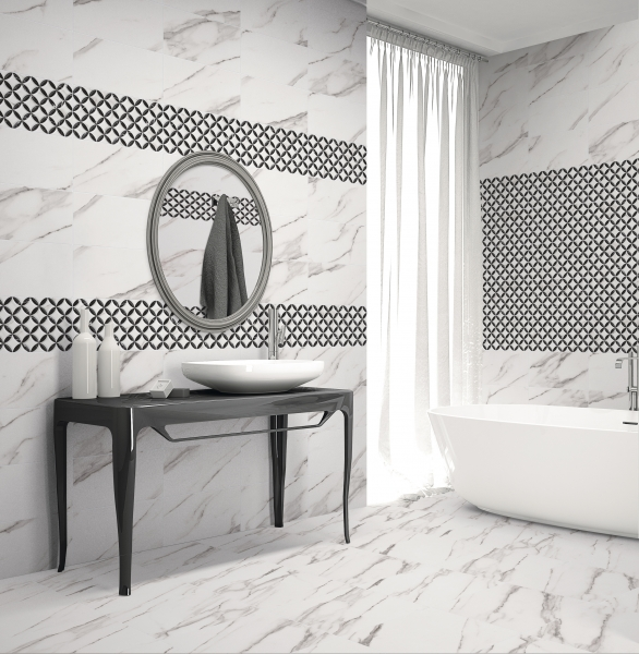 White Marble Wall Tile Ireland