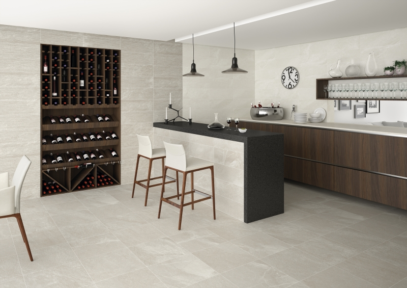 Grey Cement Style Wall and Floor Tiles