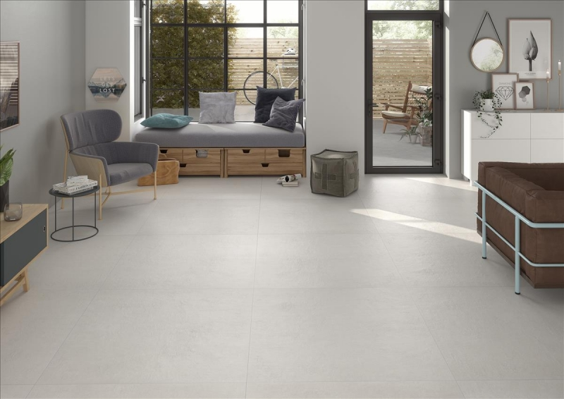 Buy White Porcelain Tiles 100x100 Online