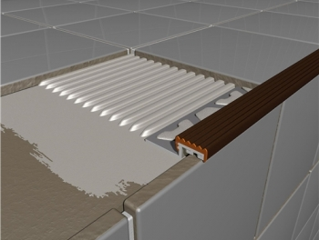 PVC Stair Edging