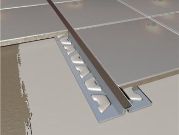 Aluminium Tile Movement Joint Black