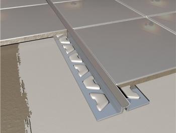Aluminium Tile Movement Joint Grey