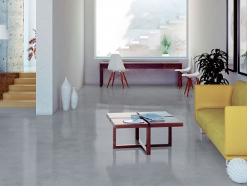 Large Grey Stone Effect porcelain Tile 100x100cm