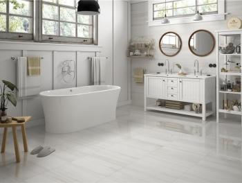 Thassos White Marble Tile Porcelain Tiles 60x30