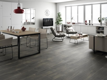 Great Value Dark Wood Effect Tiles