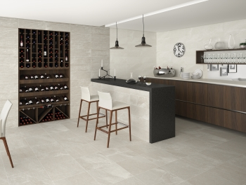 Grey Cement effect Wall Tile