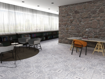 Revival Perla Pattern Tile 60x60