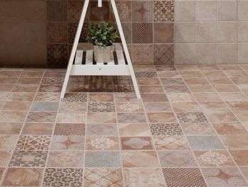 Arabesque Plain and Pattern Tiles 45x45