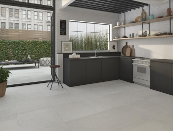 Large Format Porcelain Grey Tiles 100x100