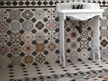 Reproduction Victorian Pattern Floor and Wall Tiles
